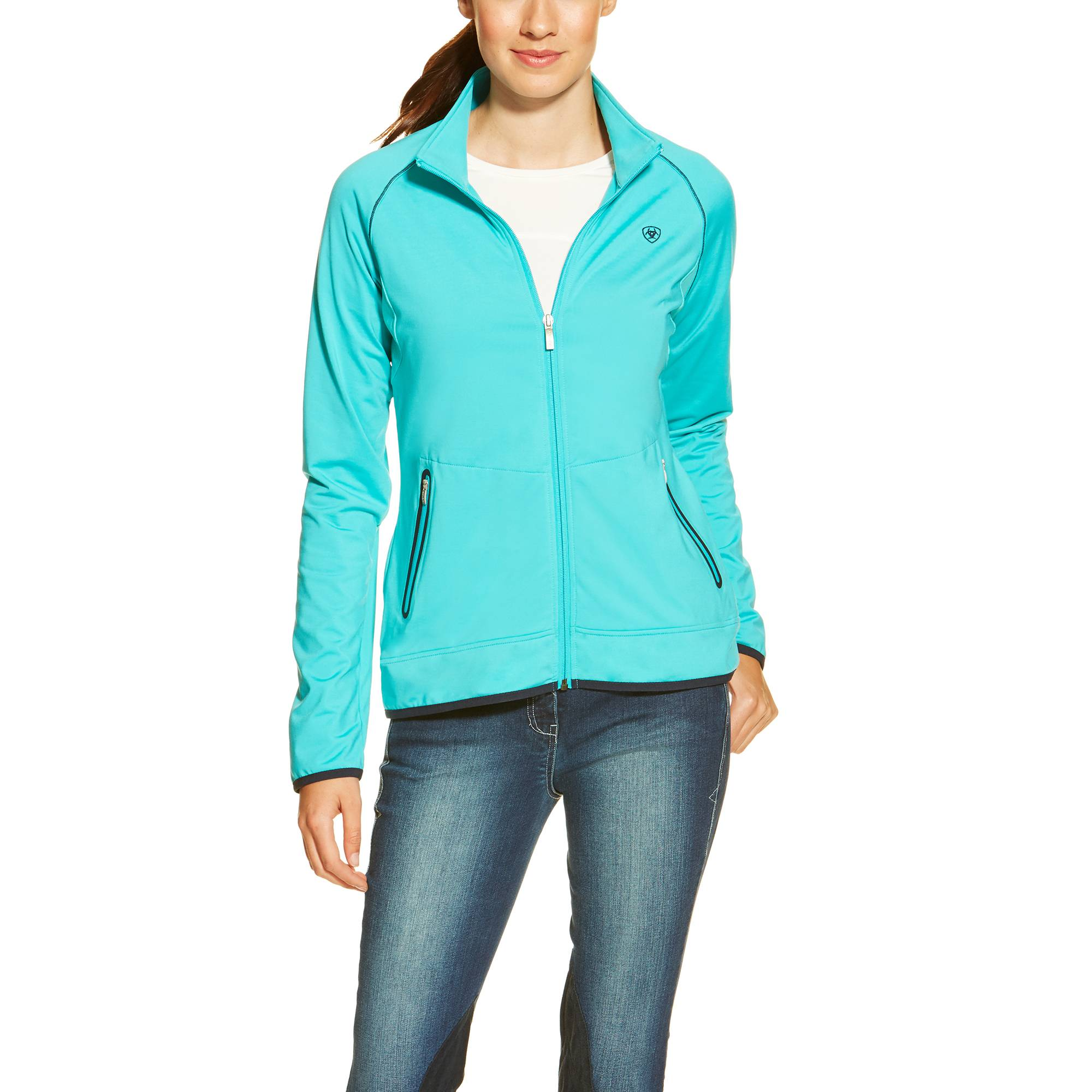 Ariat Ballad Full Zip - Ladies - Bluebird