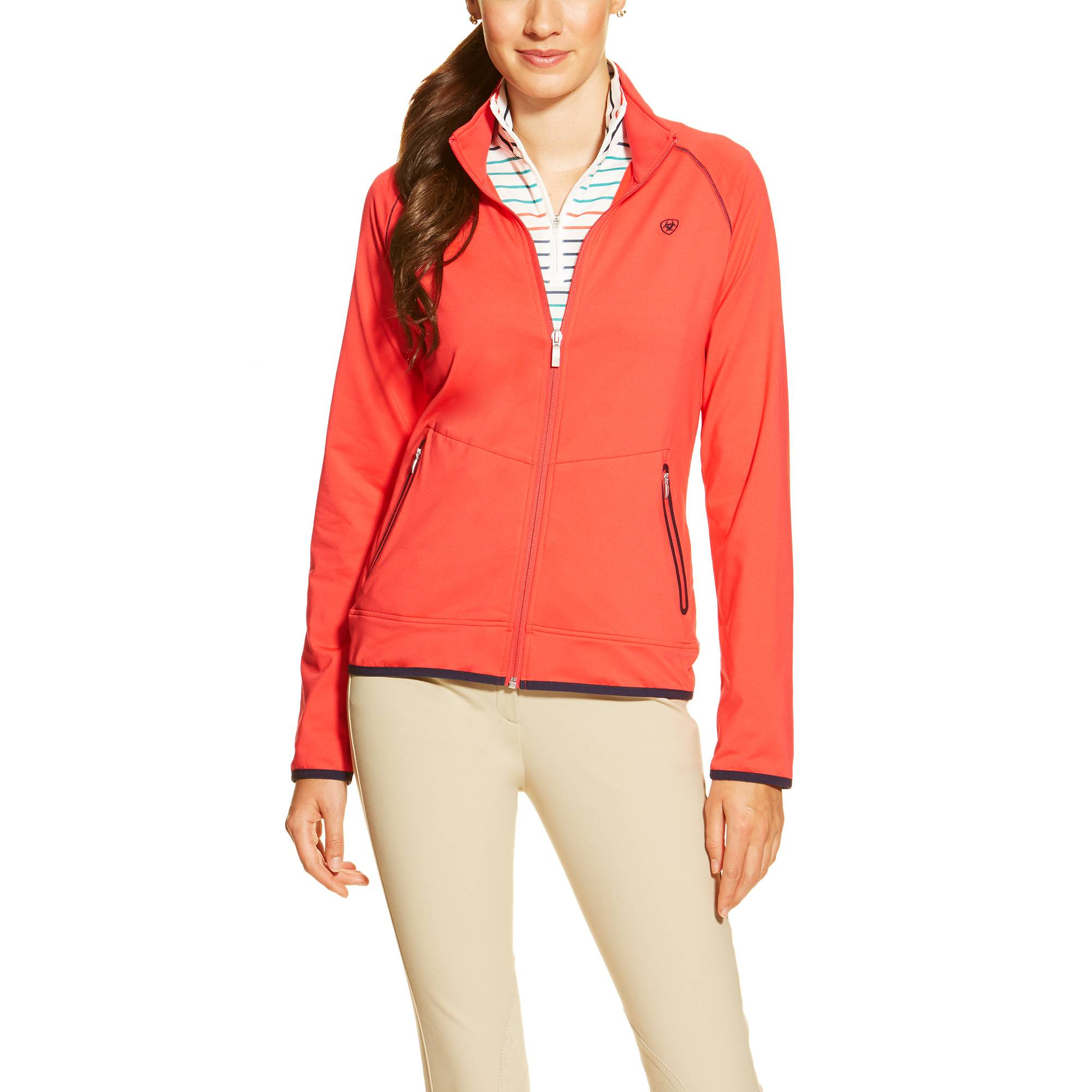 Ariat Ballad Full Zip - Ladies - Flame