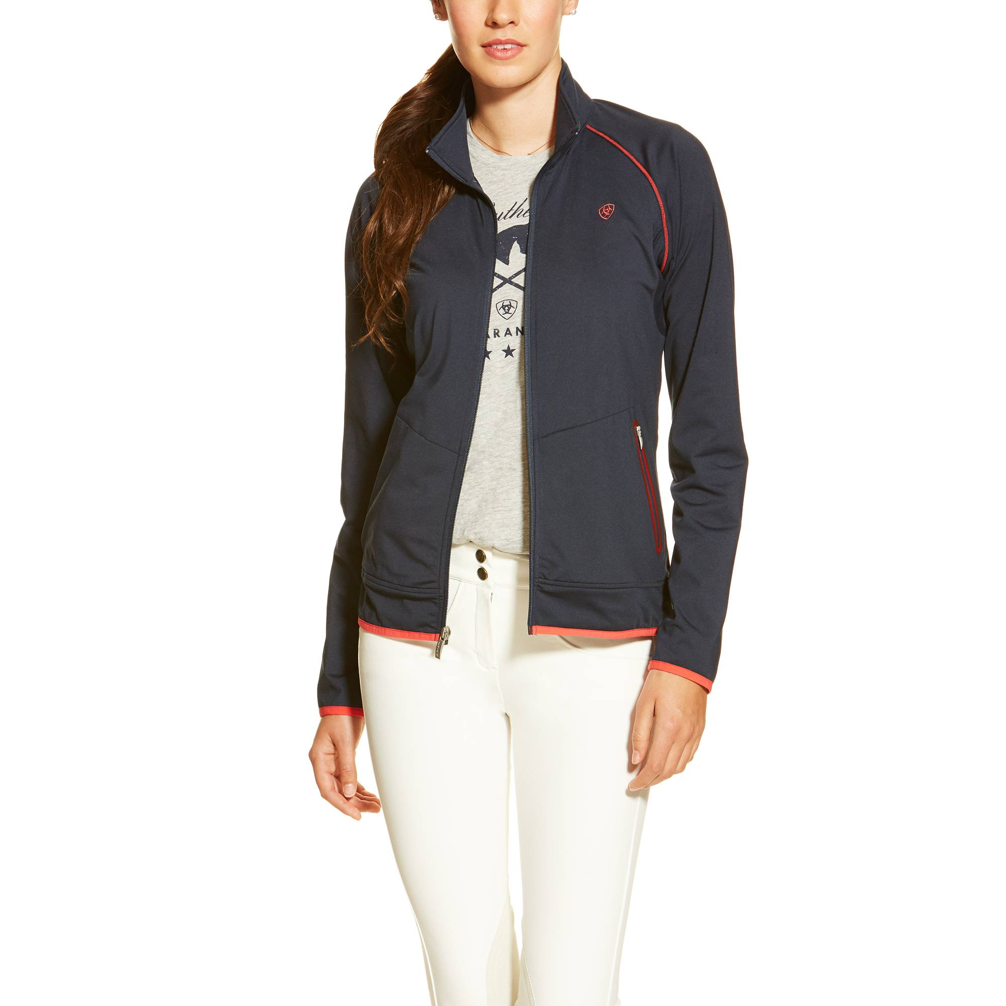 Ariat Ballad Full Zip - Ladies - Navy