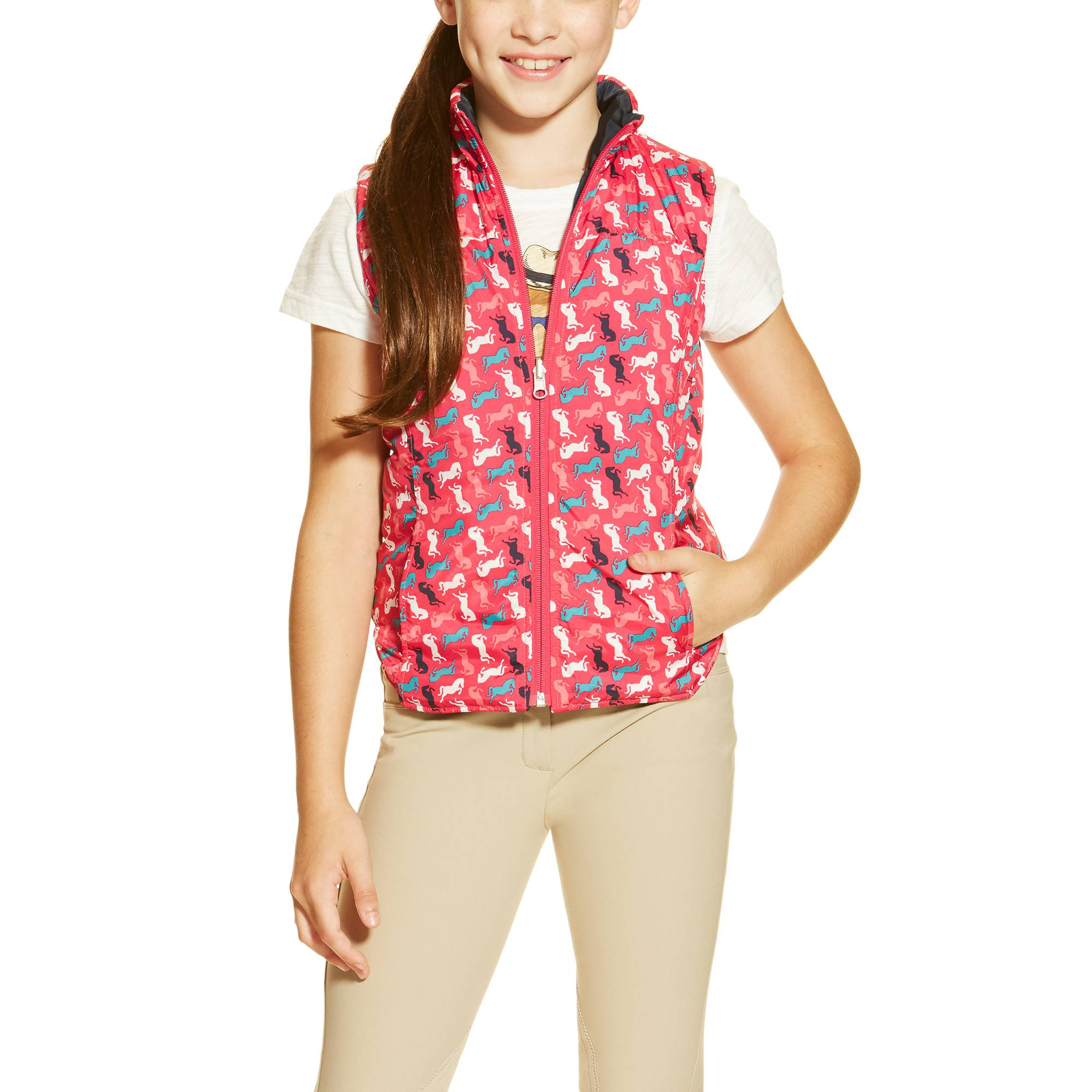 Ariat Emma Vest - Girls - Multi