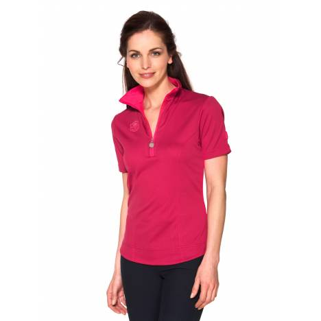 Gersemi Krista Functional 1/2 Zip Shirt - Ladies - Violet