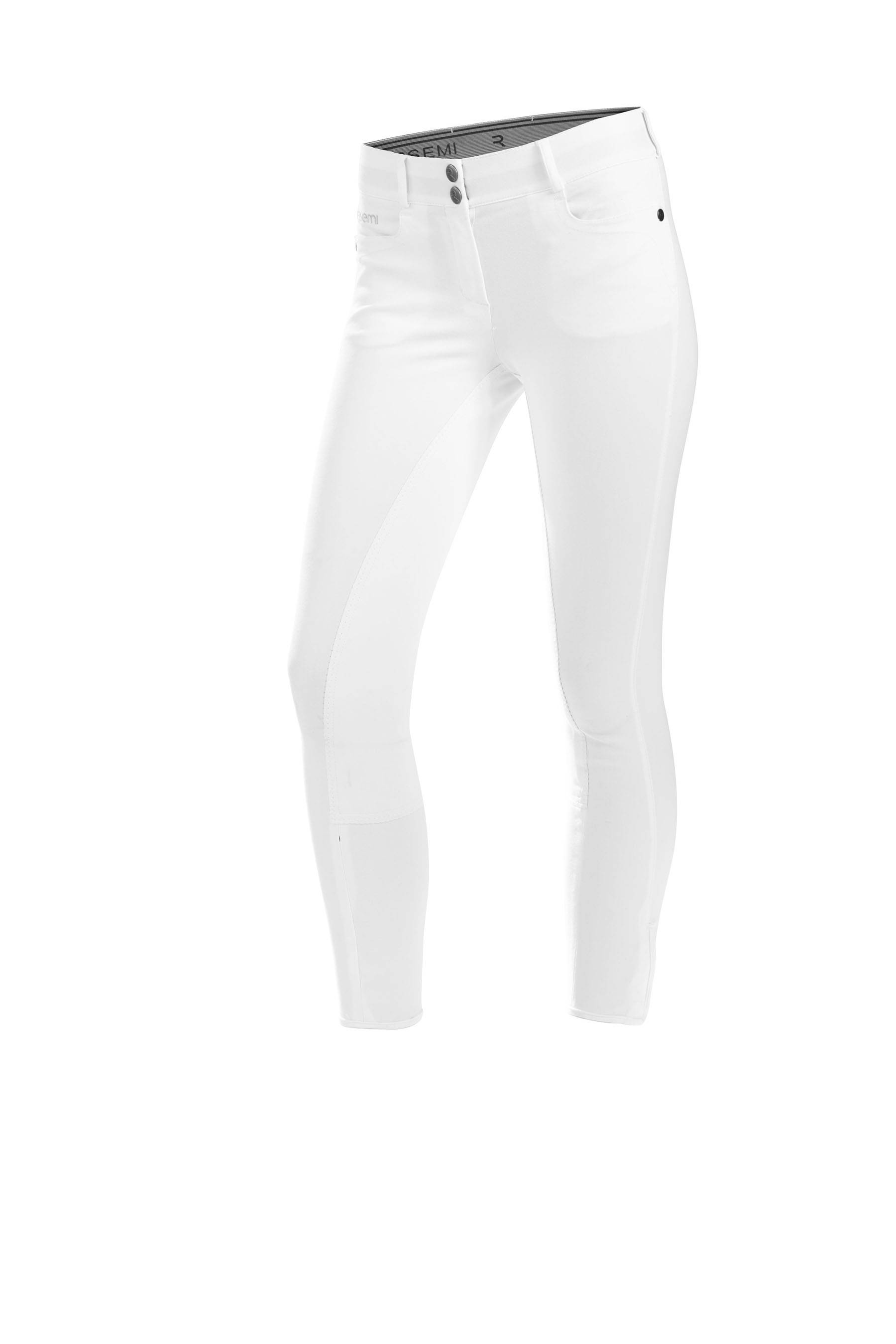 Gersemi Sigyn Knee Patch Breeches - Ladies - White