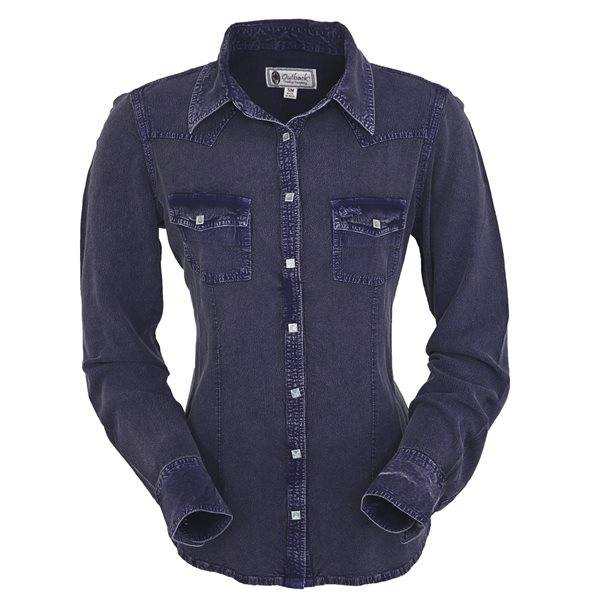 Outback Trading Dana Blouse - Ladies