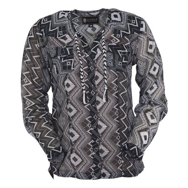 Outback Trading Loretta Blouse - Ladies