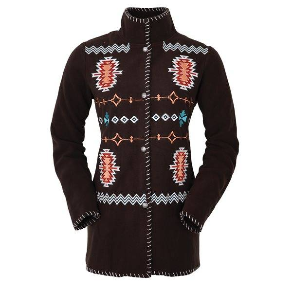Outback Trading Santa Fe Fleece Jacket - Ladies