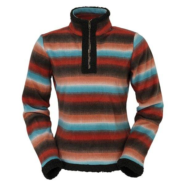 Outback Trading Karly Henley Fleece - Ladies