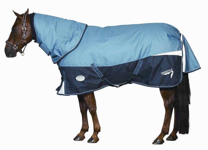 Weatherbeeta Freestyle 1200D Detach-A-Neck Medium Turnout Blanket