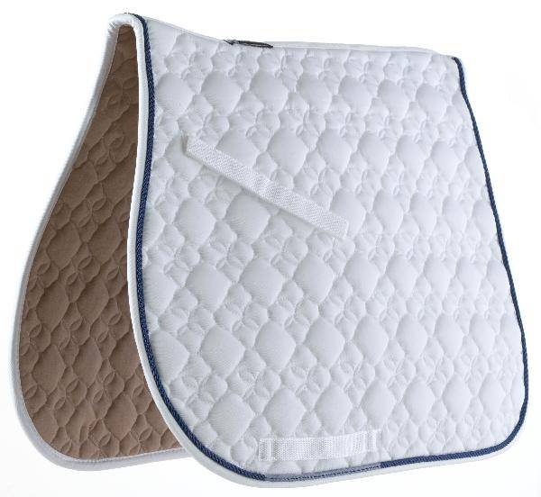 Roma Flower Quilted All Purpose Saddle Pad