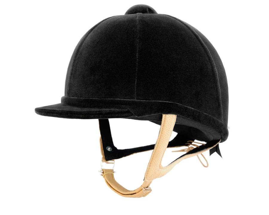 Charles Owen Showjumper XP Helmet - Flesh Harness