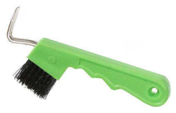 Tough-1 Easy-Grip Hoof Pick/Brush Combination