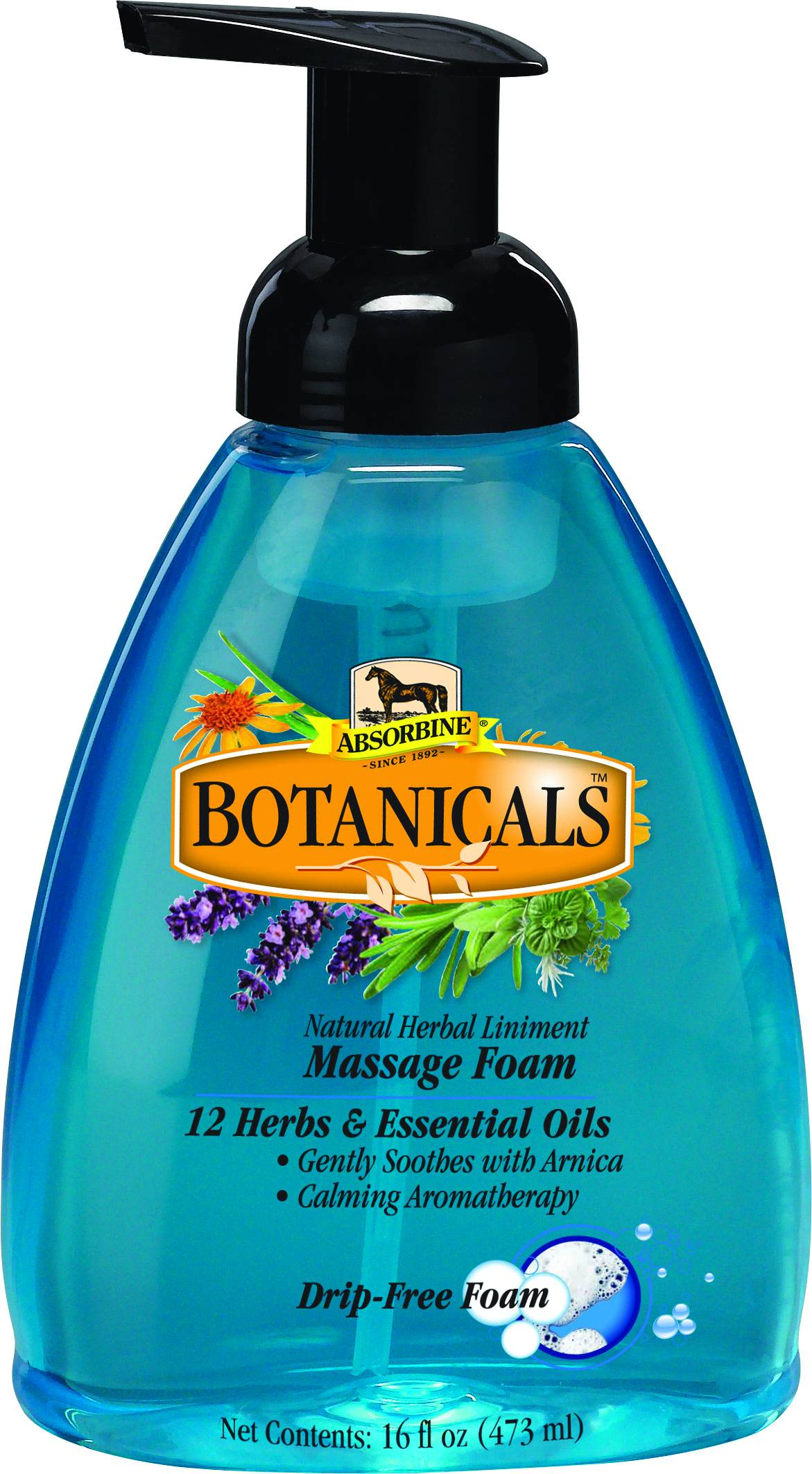 Absorbine Botanicals Massage Foam - 16 oz