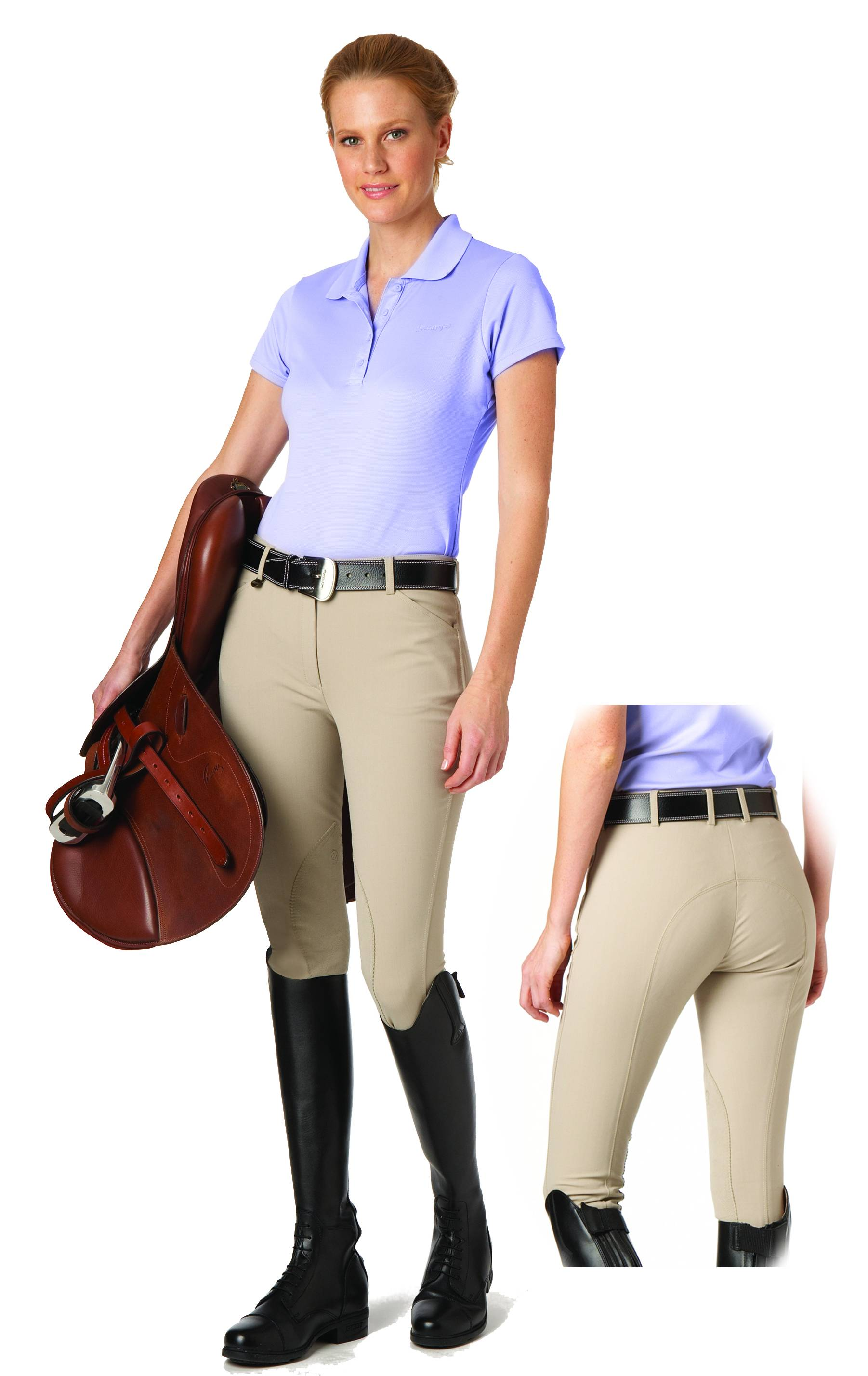 Ovation UltraDX Kids Euro Knee Patch Breech