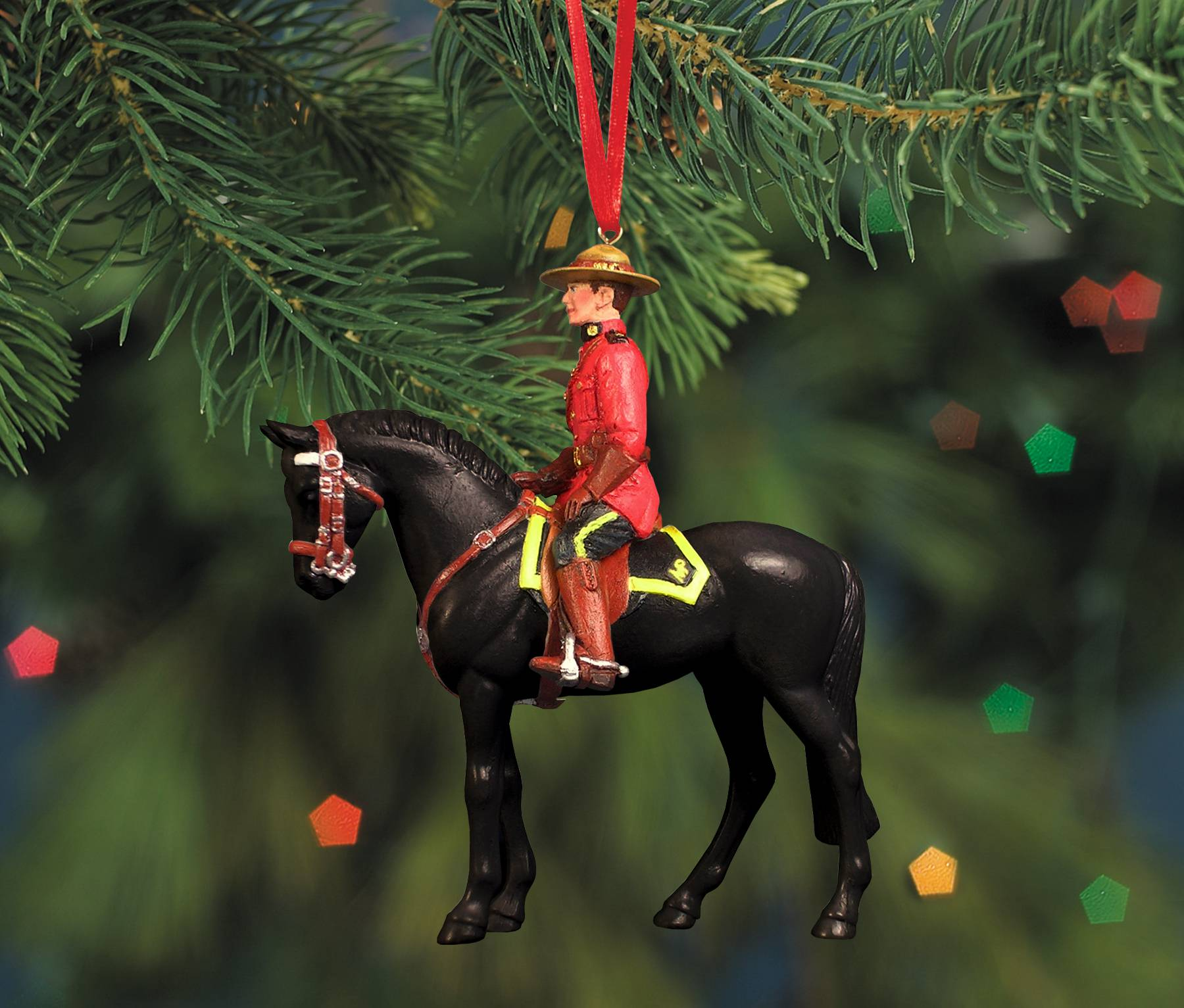 Breyer Rcmp Musical Ride Ornament