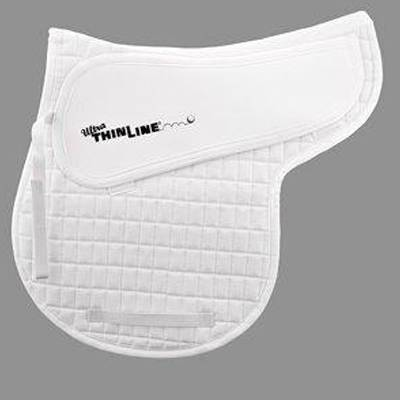 Ultra ThinLine Cotton Comfort All Purpose Shaped Saddle Pad