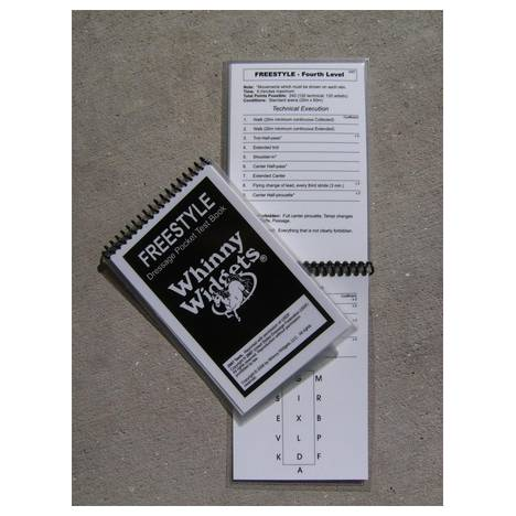 Whinny Widgets 2011 Freestyle Level Dressage Test Book