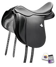 Bates Wide AP Saddle with CAIR