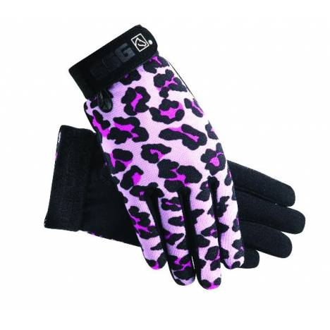 SSG Ladies' All Weather Gloves - Pink Leopard