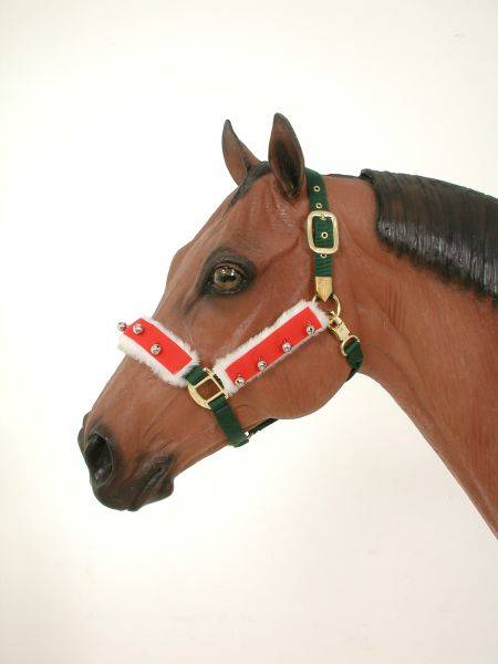 Tough-1 Holiday Halter/Bridle Set