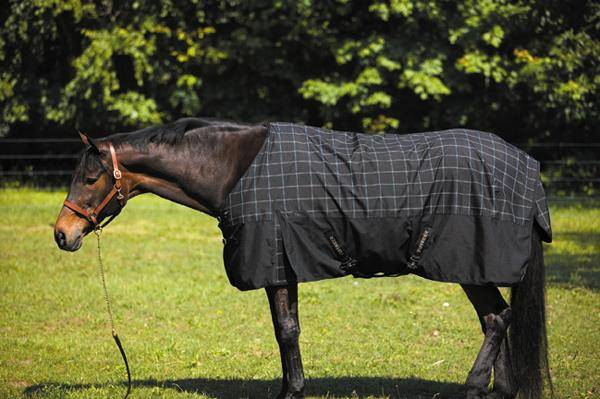 Tuffrider 1680D Plaid Turnout Lightweight Sheet