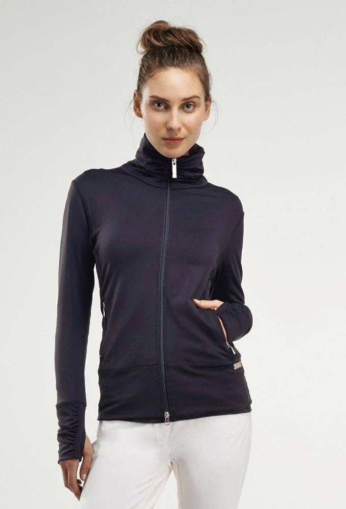 Asmar Hi Collar Warm Up Jacket - Ladies