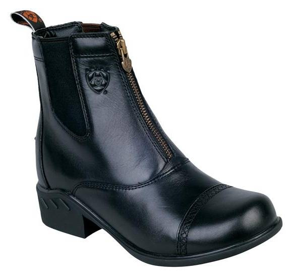 Ariat Ladies Heritage RT Zip Paddock Boots