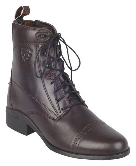 Ariat Ladies Heritage III Lace Chocloate Paddock Boots