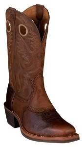 Ariat Mens Heritage Roughtstock Western Boot