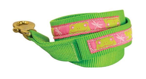 Perris Duo Color Ribbon Lead w/Snap