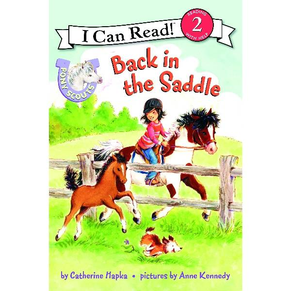 Pony Scout Kids Book - Back in the Saddle