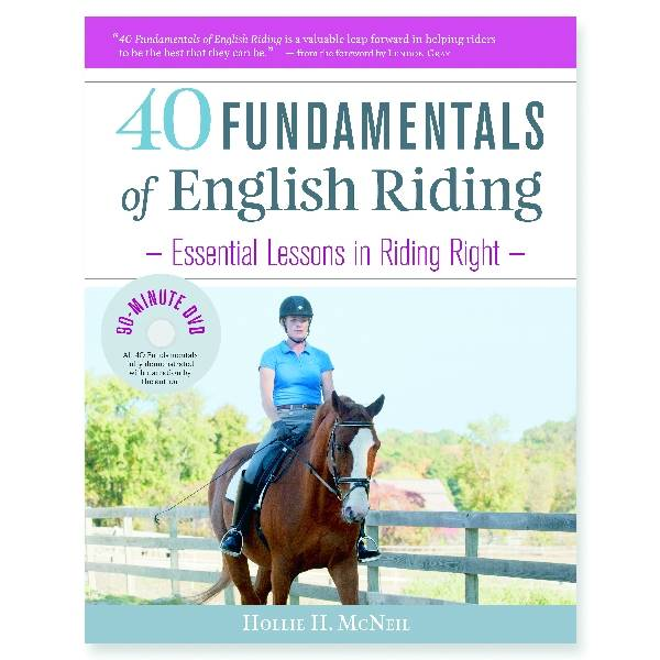 40 Fundamentals of English Riding DVD by Hollie H. McNeil