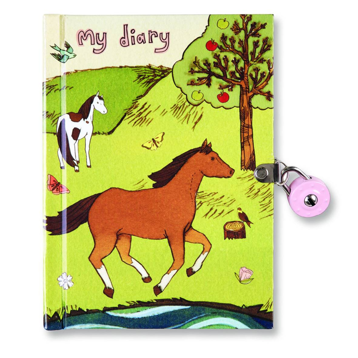 Kelley Horses Locked Diary