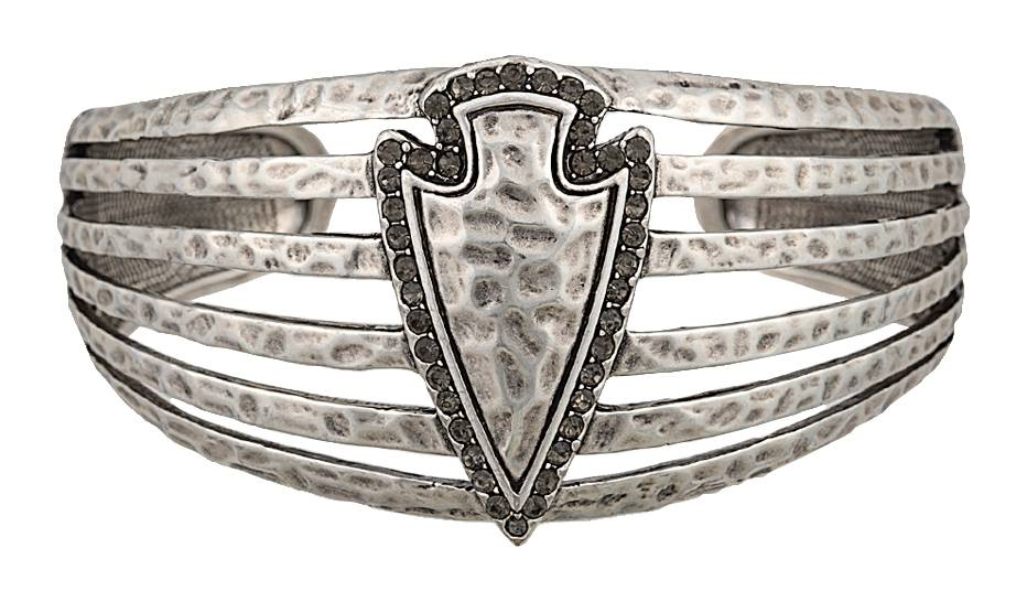 Rock 47 Tribal Flair Arrowhead Cuff Bracelet