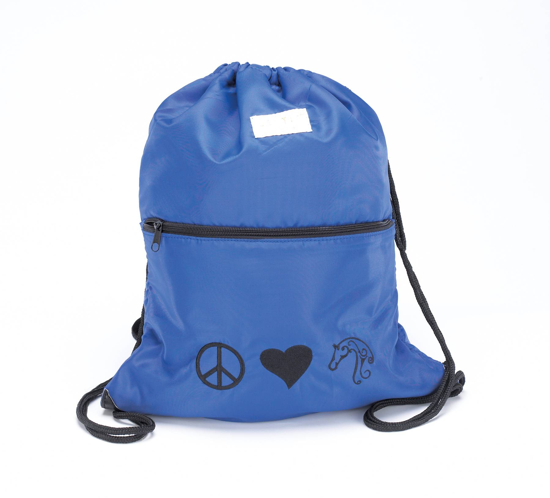 Lettia Peace, Love & Horses Helmet Back Sack