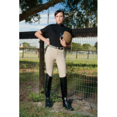 Devonaire Kids All-Pro Dev-Tek Ribbed Breech