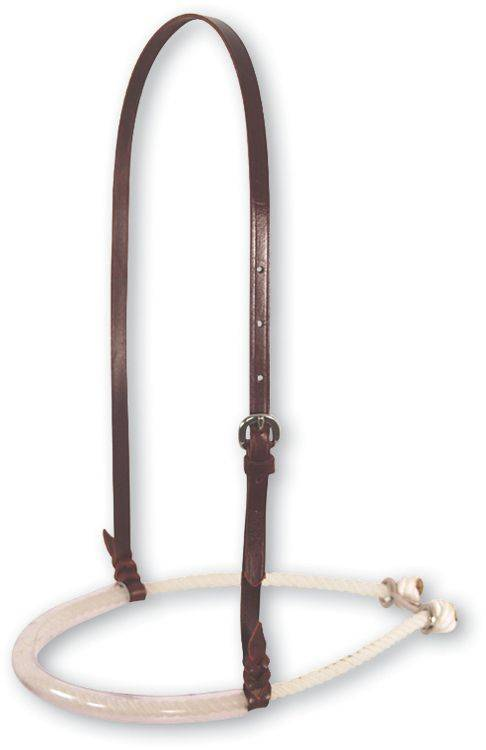Martin Saddlery Single Rope Noseband with Rubber Cover