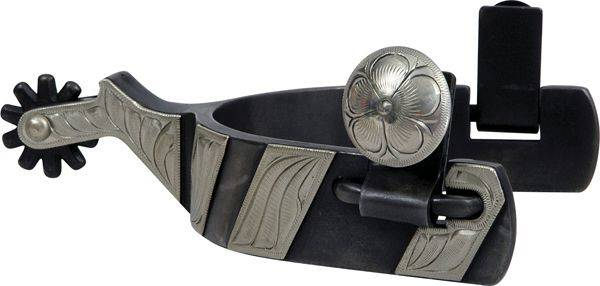 Classic Equine Cowboy Series 1'' Band with Chap Guard Spur