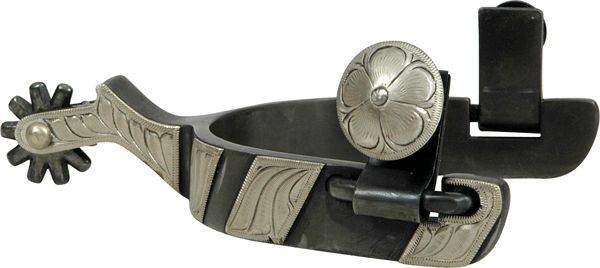 Classic Equine Cowboy 3/4'' Band with Chap Guard Spur