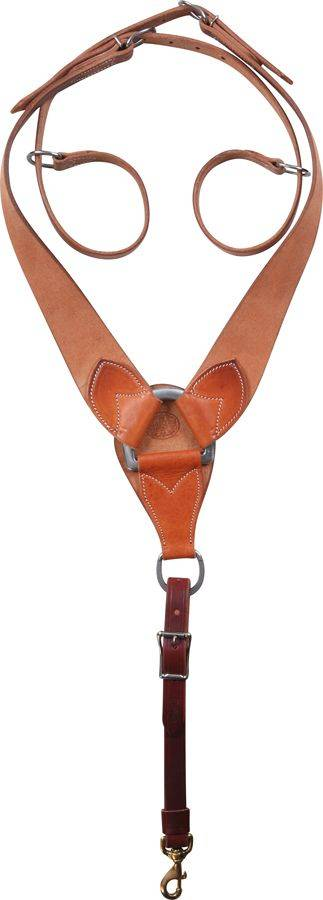 Martin Saddlery Roughout Pulling Breastcollar