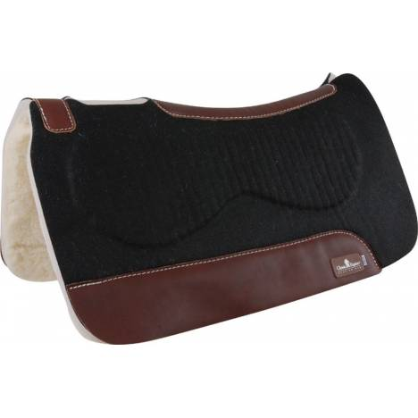 Classic Equine Zone Felt/Fleece Western Saddle Pad
