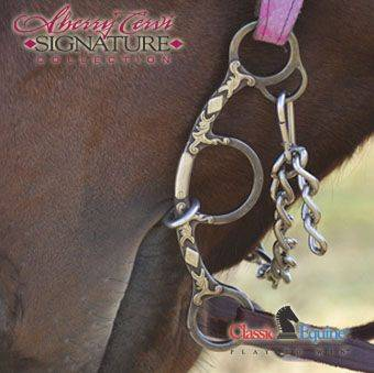 Classic Equine Cervi Chain Diamond Short Shank
