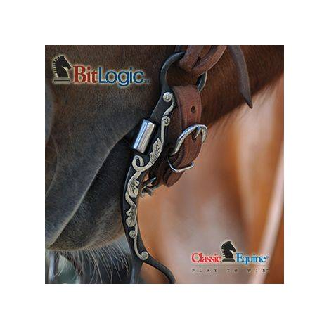 BitLogic Professional 7 1/2'' Cheek with Snaffle