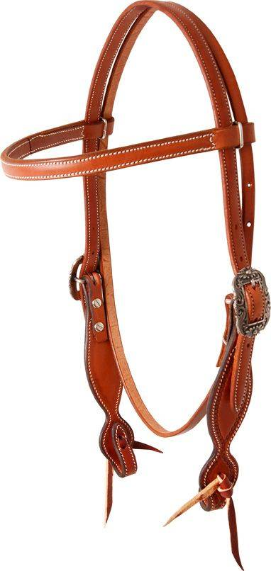 Martin Browband Headstall - Rockin Out Floral Buckles