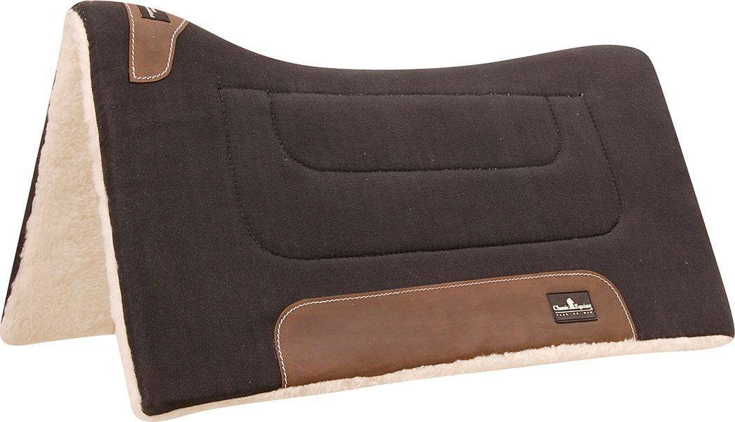 Classic Equine Performance Trainer Western Pad - Black