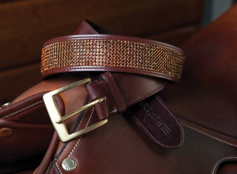 "Romfh Ladies 1 1/2"" Quiet Bling Belt"