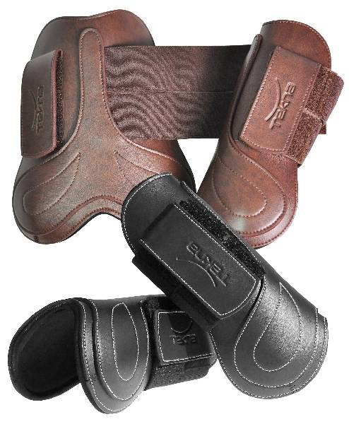 Tekna Fancy Stitched Open Front Boots