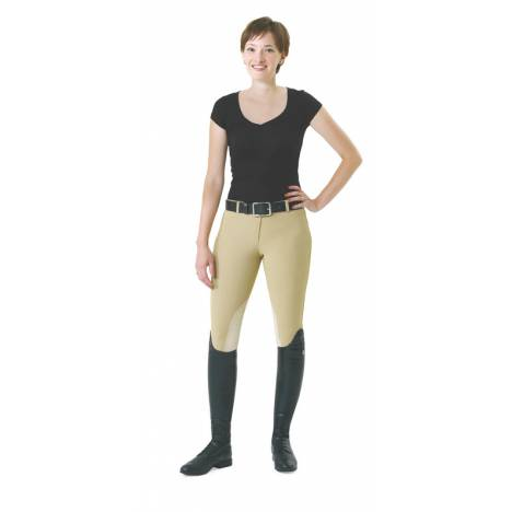 EquiStar EquiTuff Ladies PullOn KneePatch Breeches