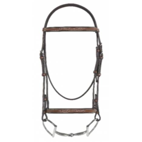 Rodrigo Fancy Raised Padded Bridle w/Rei