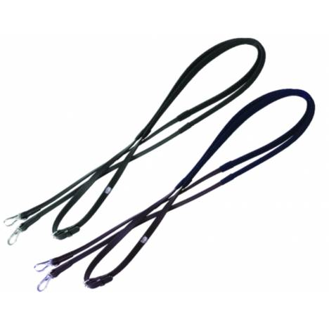 Tekna Synthetic Anti-Slip Reins with Snap End