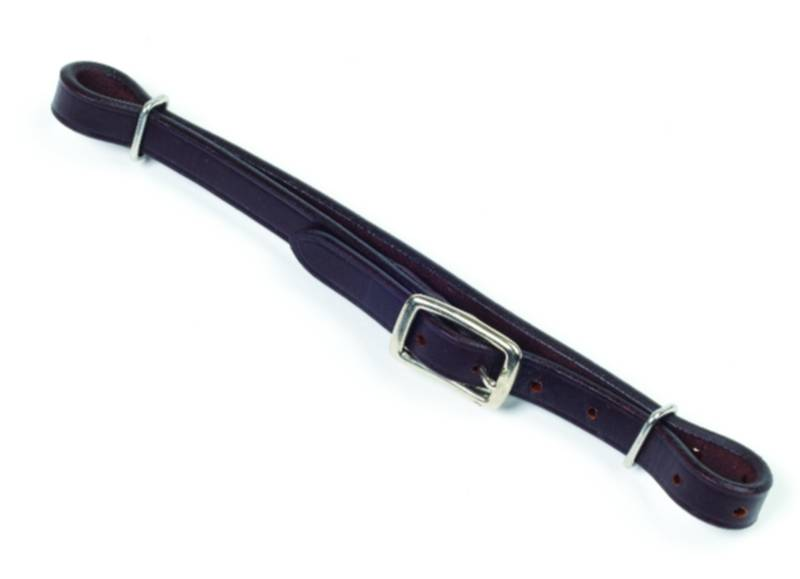 Camelot Leather Curb Strap