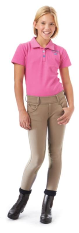 Ovation Kids Pull On Hunter Star Riding Breeches